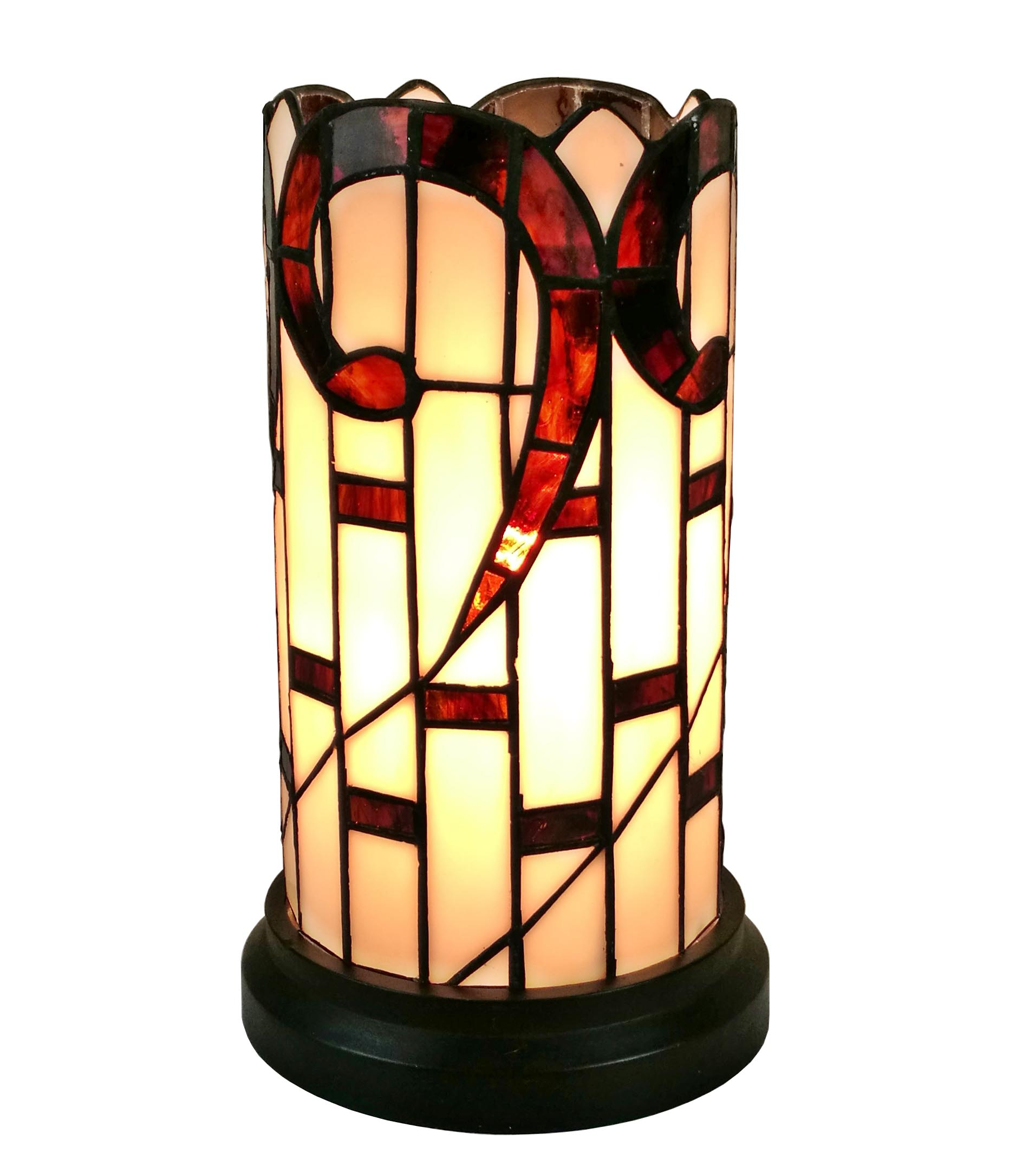 Amora Lighting Am268acc Tiffany Style Accent Table Lamp